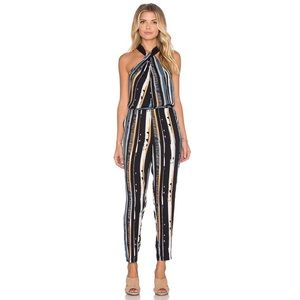 Ella Moss Fjordic Rainforest Striped Jumpsuit